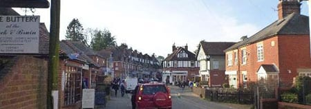 Eating And Drinking In Brockenhurst