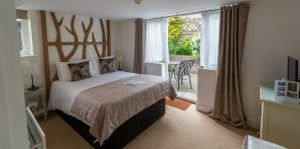 Stay in a beautifully designed New Forest hotel room