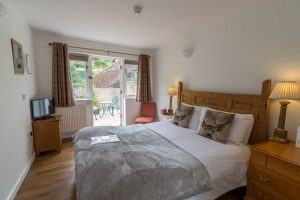 Dog friendly and family friendly room at Cottage Lodge Hotel in Brockenhurst